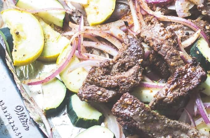 Steak Fajita Pasta-8