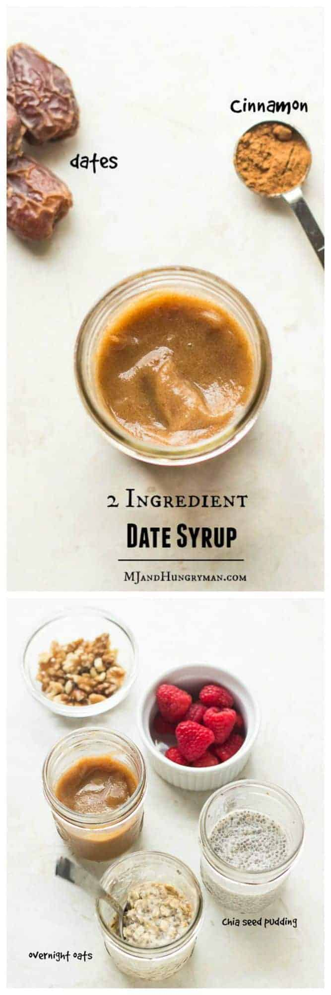 Homemade 2 Ingredient Date Syrup