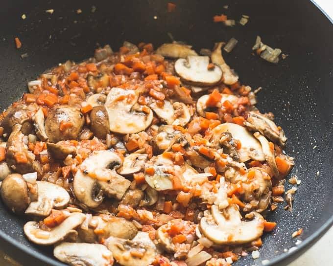 Mushroom Marsala Quinoa Risotto