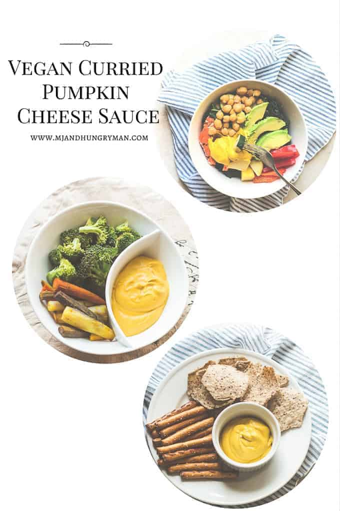 Vegan Curried Pumpkin Cheese Sauce