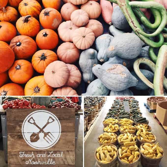 FNCE 2015 Nashville Farmers market