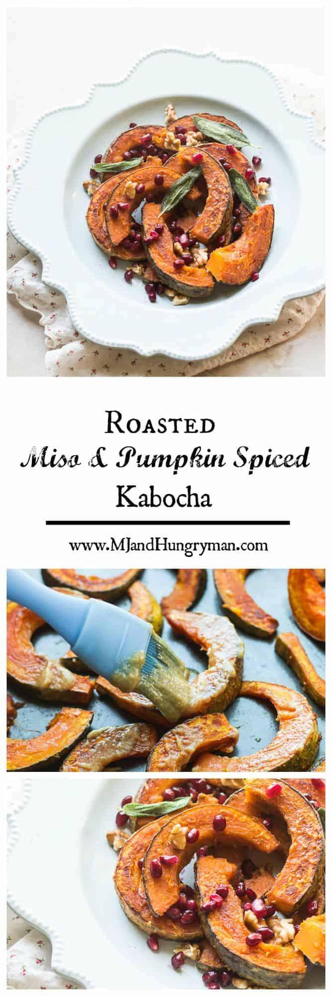 Roasted miso and pumpkin spiced Kabocha
