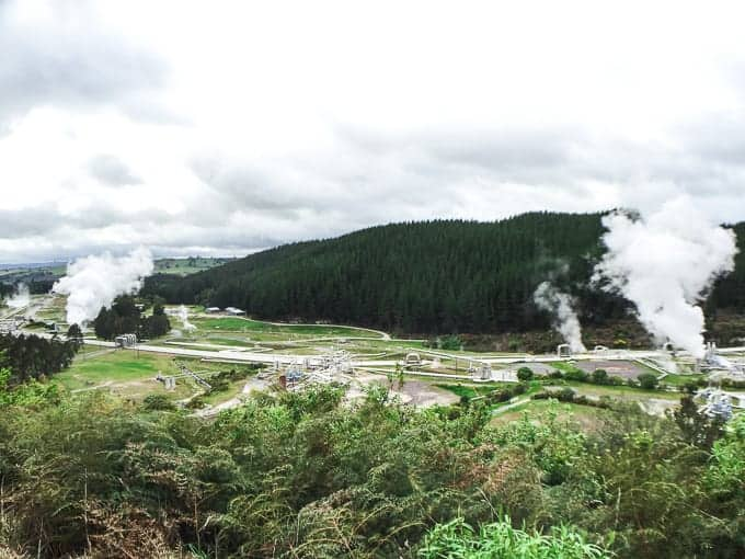 Wairakei Steam Valley