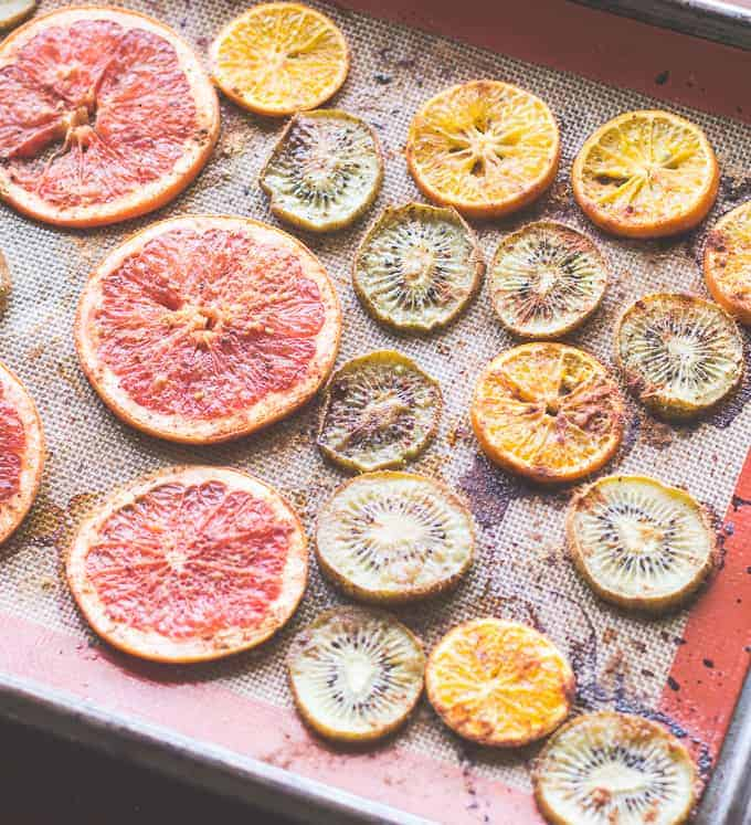 How to Roast Citrus and Kiwi