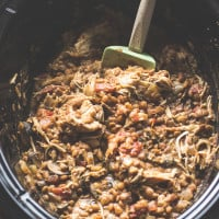 Slow Cooker Thai Chicken Lentil Curry