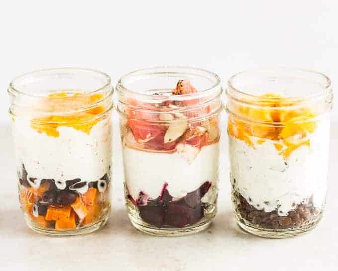 Sweet and savory breakfast yogurt
