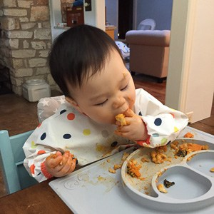 African peanut stew - baby led weaning