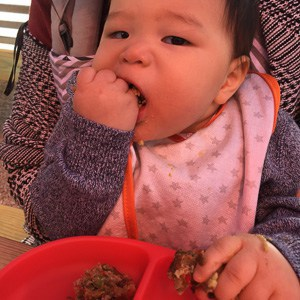 Mexican lentil muffins - baby led weaning