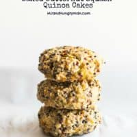 Baked Butternut Squash Quinoa Cakes