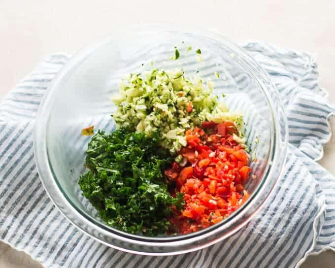 Savory zucchini and kale ricotta muffins -baby led weaning