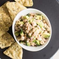 Easy Salmon Bean Salad
