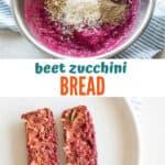 beet zucchini bread - mjandhungryman.com
