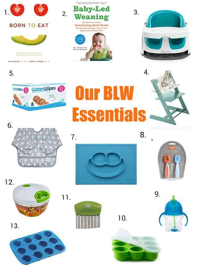 MJandHungryman baby led weaning essentials