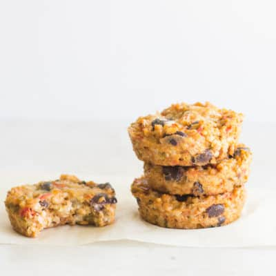 kid friendly southwestern oat muffins - mjandhungryman