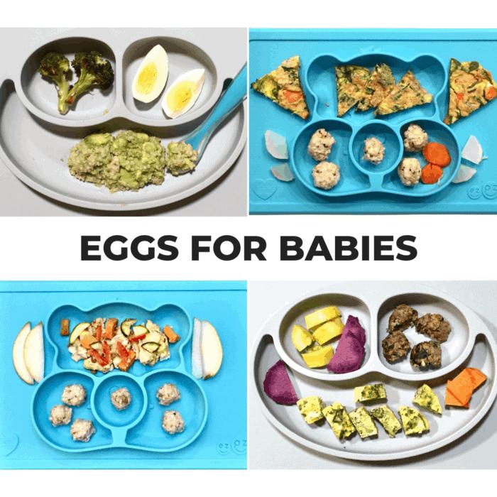 baby friendly egg veggie pancakes - mjandhungryman.com