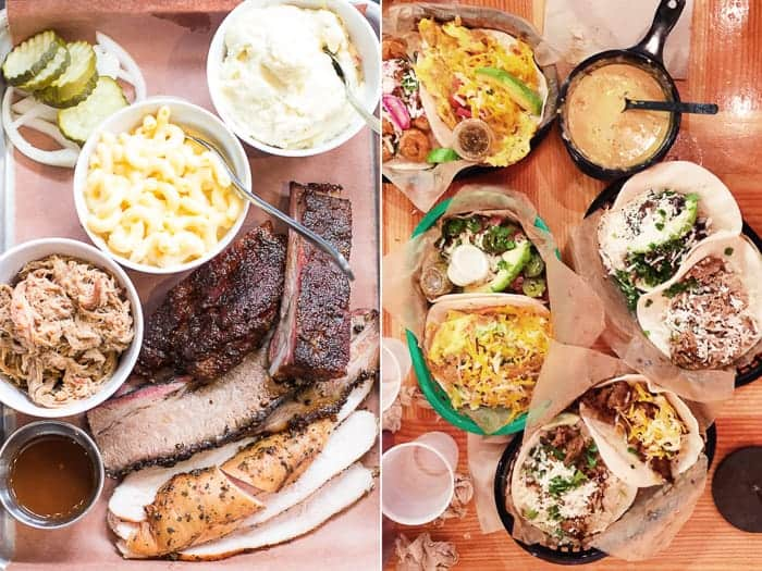 Texas Food - bbq and tacos