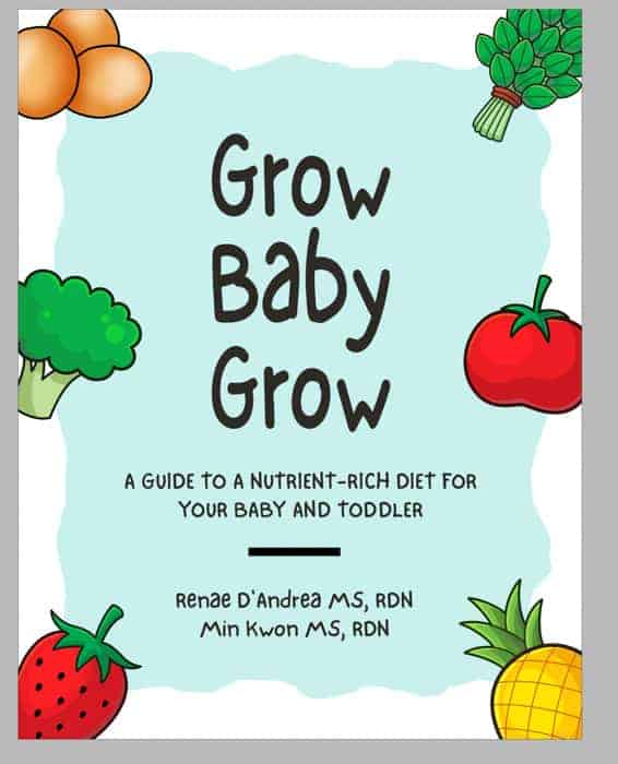 Cover page for Grow Baby Grow ebook