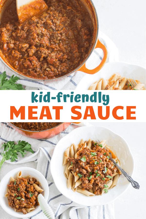kid friendly farm fresh meat sauce - mjandhungryman.com