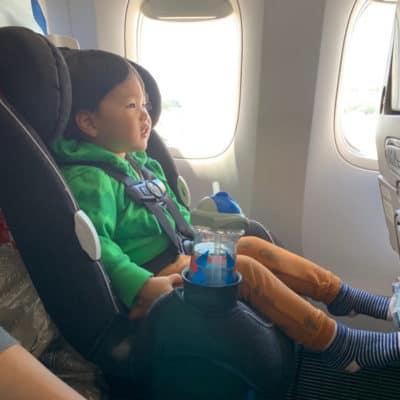 Tips for traveling with a toddler