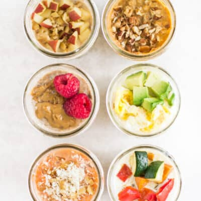 overnight oats and quinoa