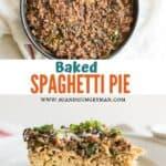 low sodium baked spaghetti pie