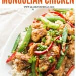 lightened up Mongolian chicken