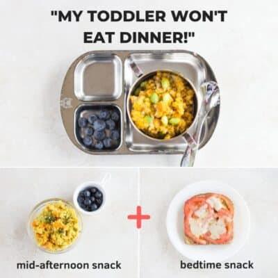 what to do when your child won't eat dinner
