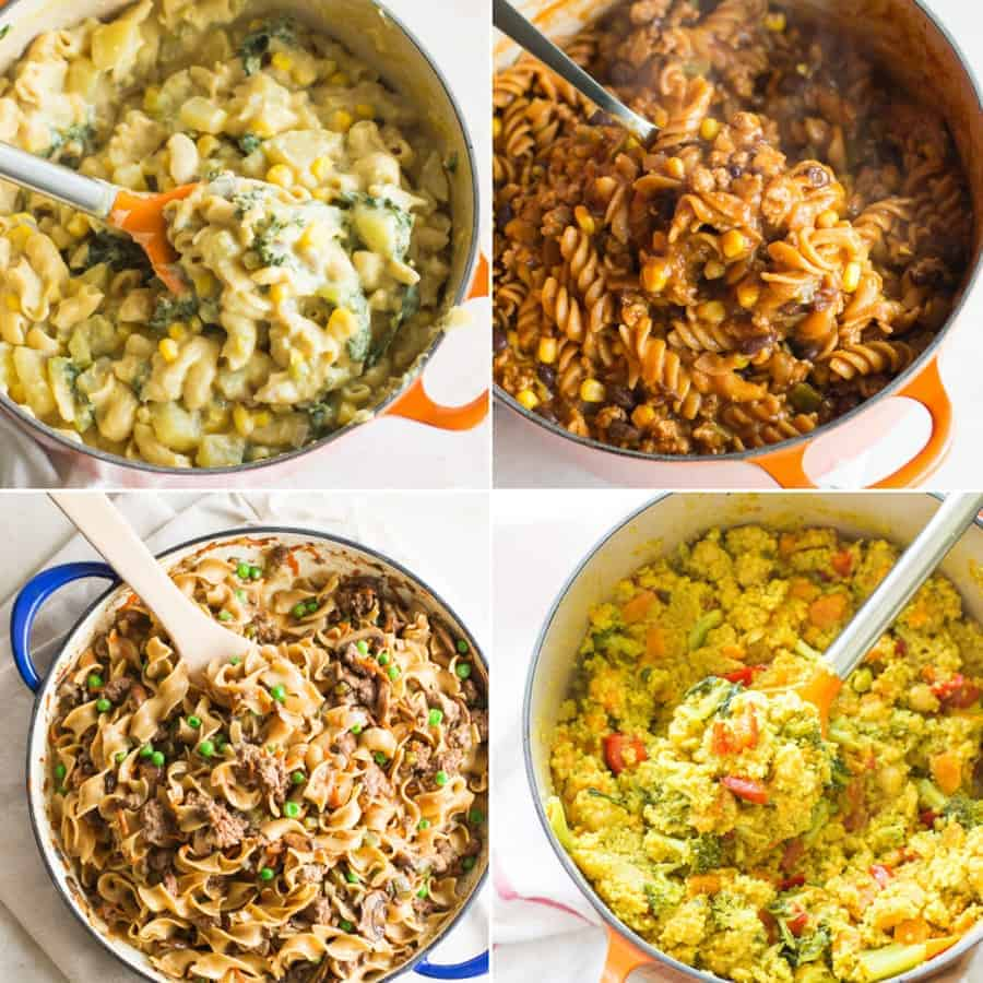 Easy kid-friendly pantry meals