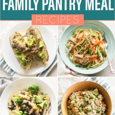 Healthy Family Pantry Meal Ideas_Pinterest 1