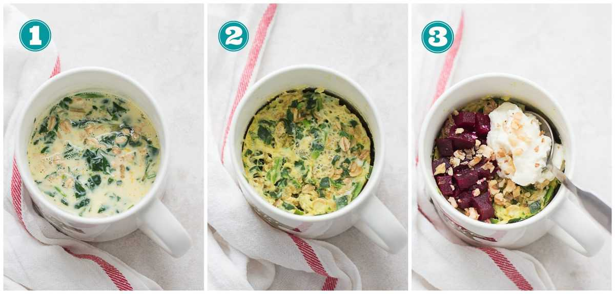 step by step instructions for curry oatmeal